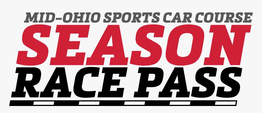 M#ohio Sports Car Course Season Race Pass Logo - Poster, HD Png Download, Free Download
