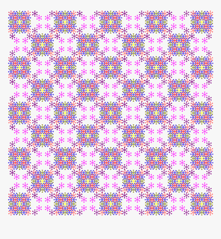 Floral Chess Pattern Clipart - Many Rectangles Are There In A Chess Board, HD Png Download, Free Download