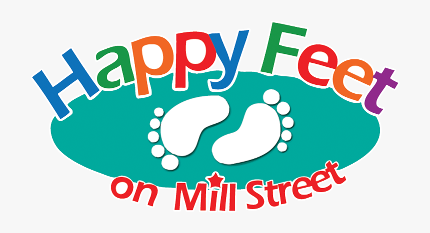 Happy Feet Childcare - Graphic Design, HD Png Download, Free Download
