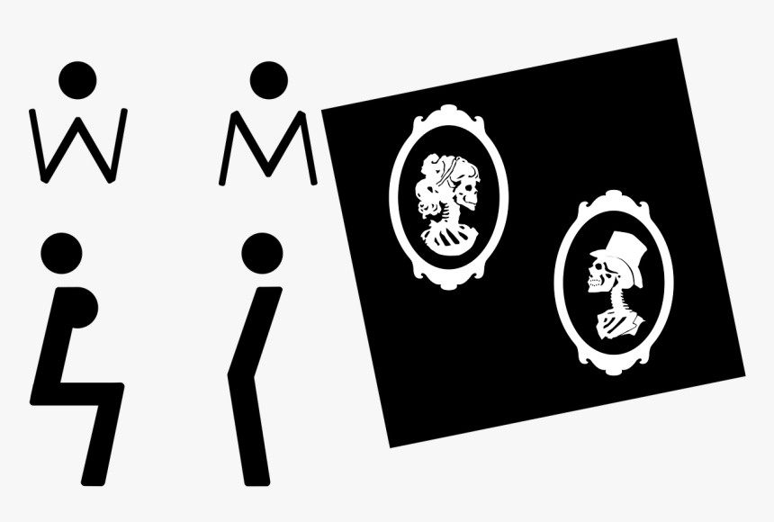 Wc Wc Signs Toilet Free Photo - Emblem, HD Png Download, Free Download