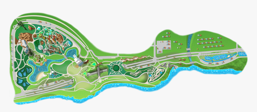 Park Map - Gathering Place Tulsa Ok Map, HD Png Download, Free Download