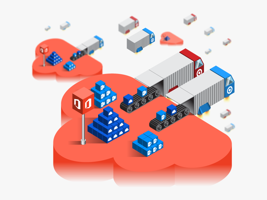 Ahsay Cloud To Cloud / Cloud To Local Backup For Managed - Graphic Design, HD Png Download, Free Download