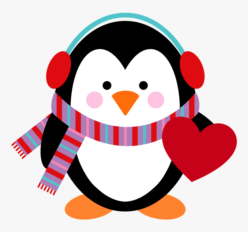 transparent cute christmas clipart christmas cute penguin png png download kindpng transparent cute christmas clipart