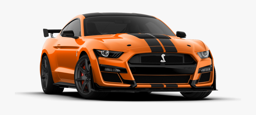 2020 Mustang Shelby Gt500 Twister Orange With Absolute - 2020 Ford Mustang  Shelby Gt500 Green, HD Png Download - kindpng
