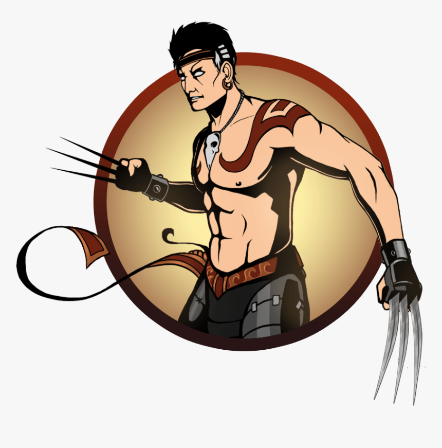 Shadow Fight 2 Personajes Png Download Nunchaku Shadow Fight 2 Transparent Png Kindpng