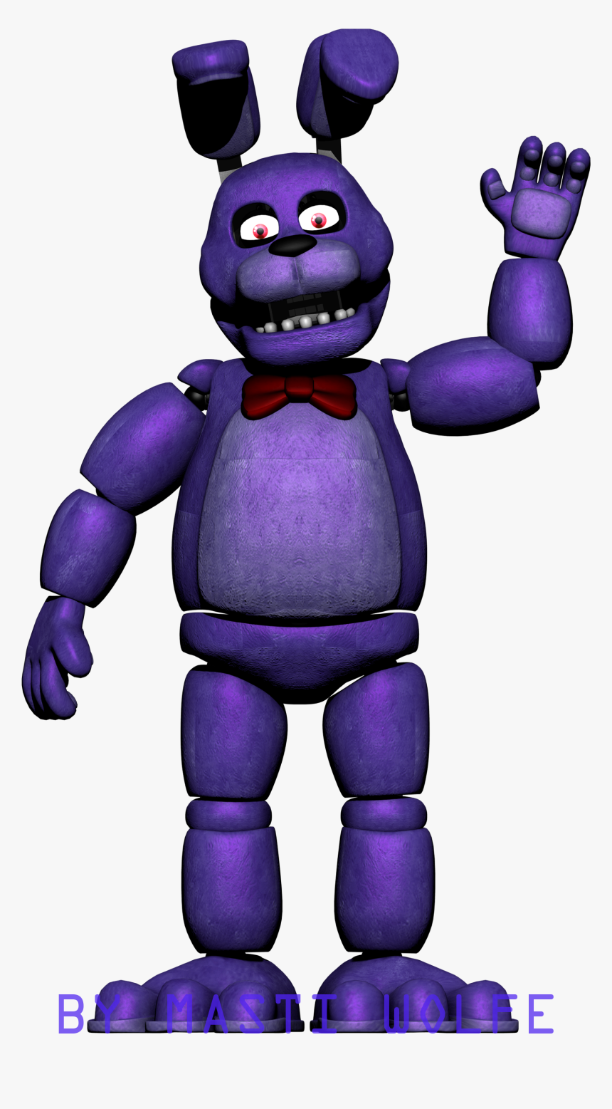 Five Nights At Freddy's Bonnie Animated five night at freddy drawing bonnie, hd png download - kindpng