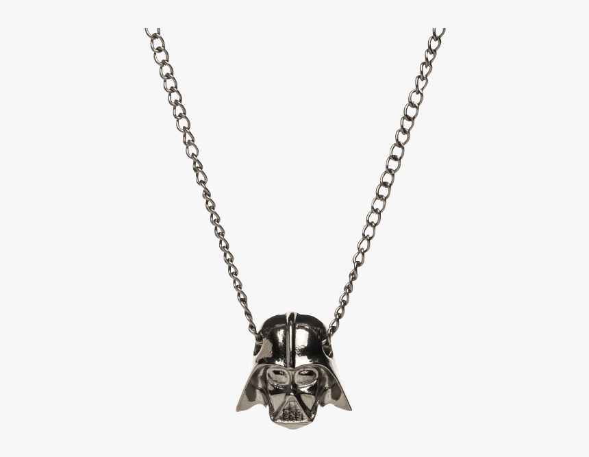 Star Wars Darth Vader Necklace - 30 Inch Chain Silver Figaro, HD Png Download, Free Download