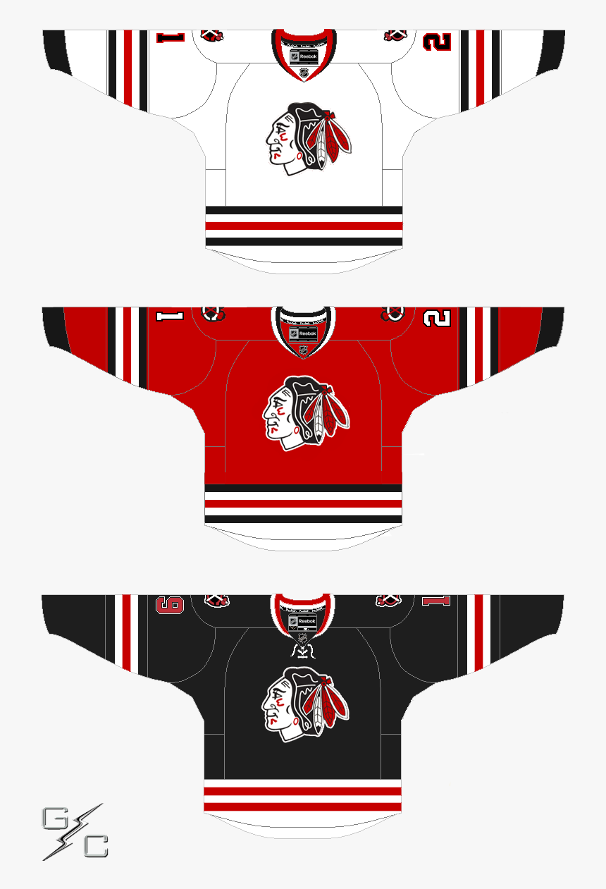 1 - Blackhawks Winter Classic 2019 Jersey, HD Png Download, Free Download
