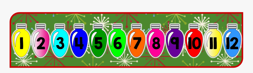 12 Days Of Christmas Count Down, HD Png Download, Free Download