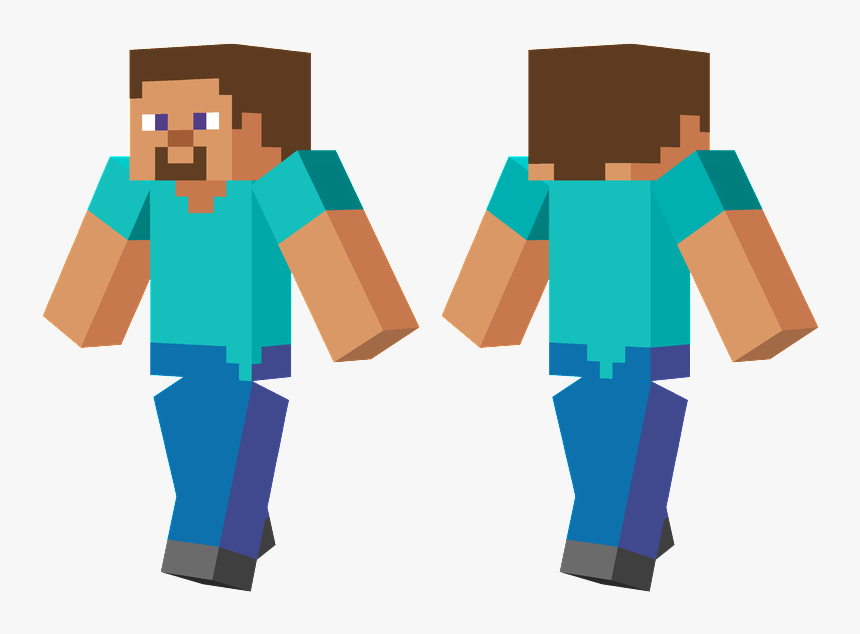 Minecraft Skin Zombie Enderman, HD Png Download, Free Download