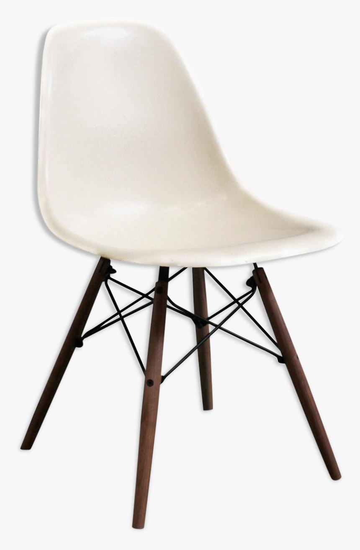 """Chair Eames Dsw """"parchment - Krzesła Nogi Dąb Wenge, HD Png Download, Free Download"""