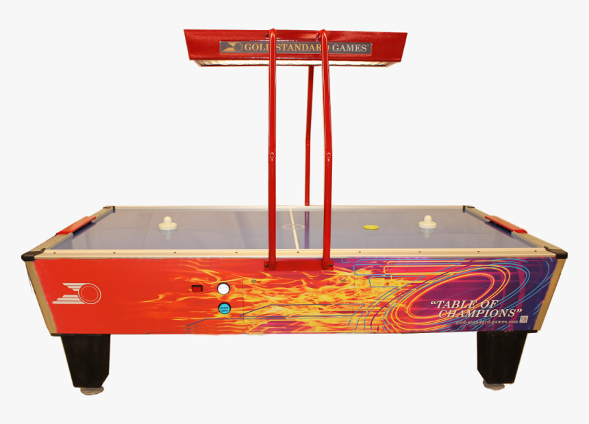 Gold Games Shelti Gold Pro Elite - Pro Air Hockey Table, HD Png Download, Free Download