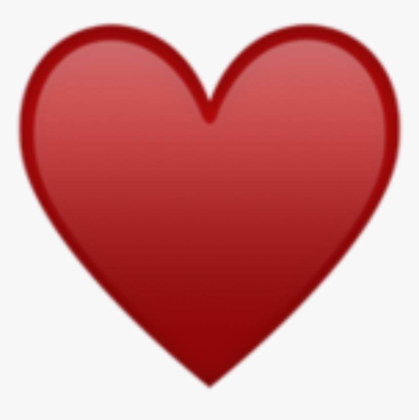 Rotes Herz Emoji Iphone, HD Png Download, Free Download