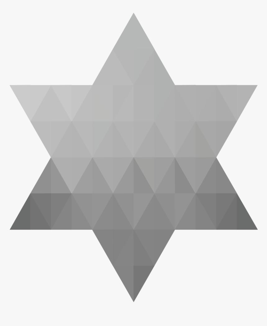 Geometric Jewish Star Of David Vii - Multiple Headphone Splitter, HD Png Download, Free Download