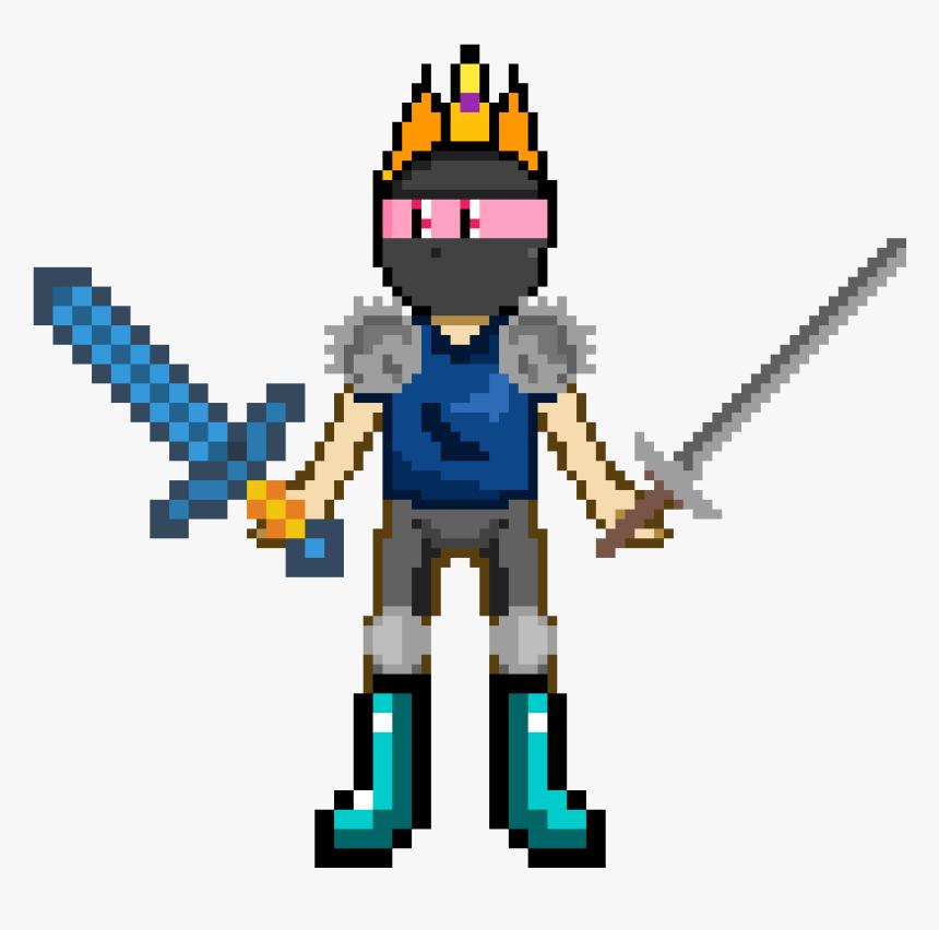 Minecraft Diamond Sword, HD Png Download, Free Download