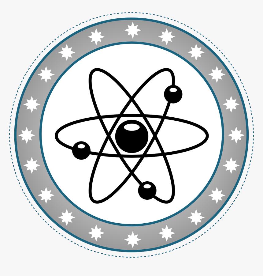 Transparent Background Atom Model Clipart, HD Png Download, Free Download