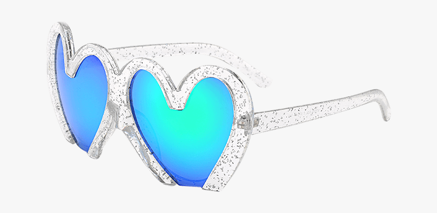 Uv Protection Design Heart Shape Beach Sunglasses - Heart, HD Png Download, Free Download