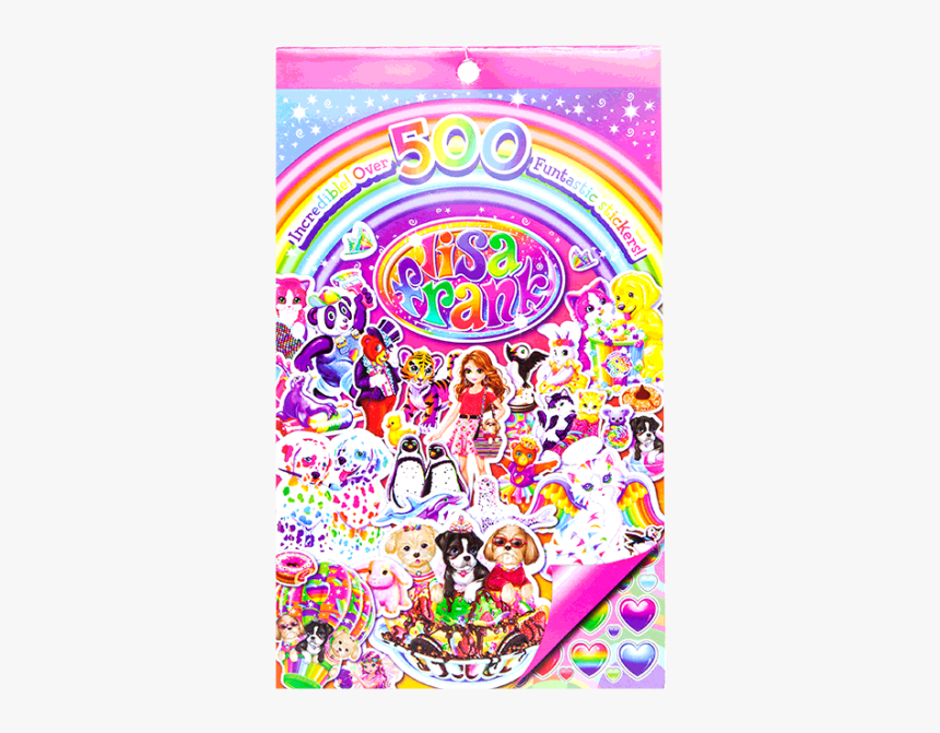 Walmart Lisa Frank Stickers Book, HD Png Download, Free Download