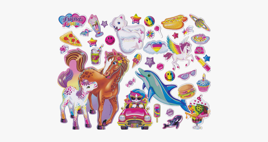 #stickers #90s #lisafrank #freetoedit - Lisa Frank Stickers Png, Transparent Png, Free Download