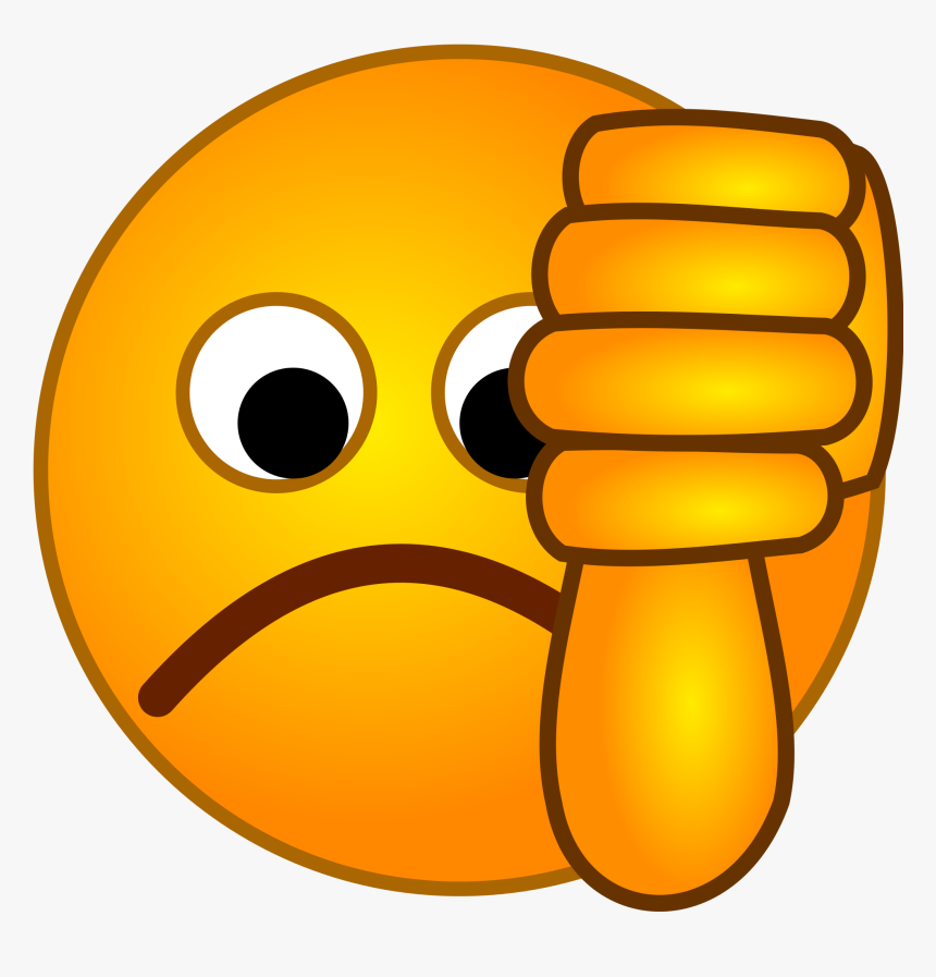 File - Smirc - Thumbs Down Emoji Svg, HD Png Download, Free Download