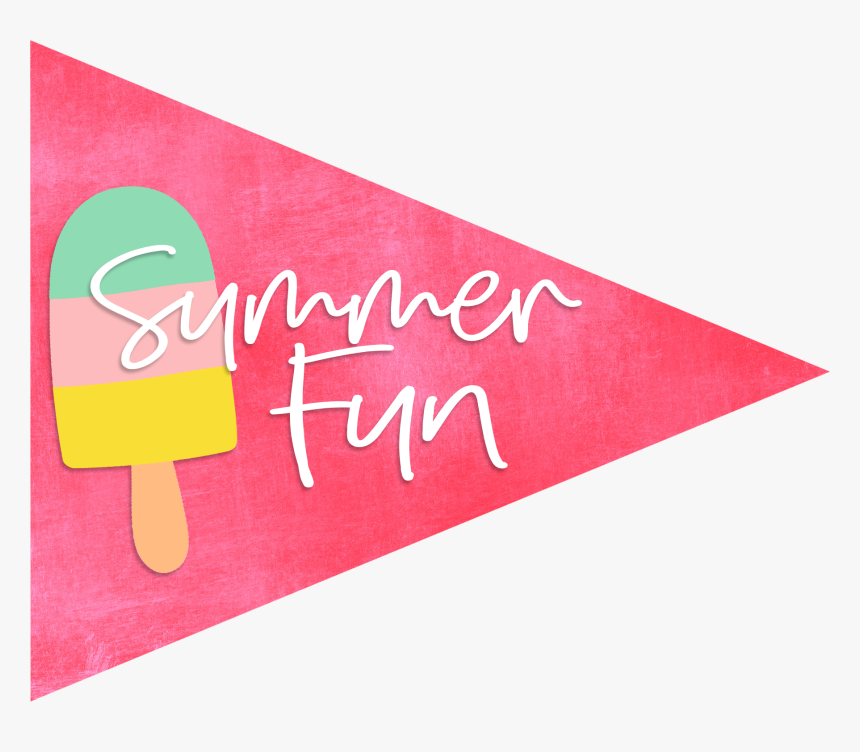 Summer Fun Party Flags - Transparent Summer Fun Png, Png Download, Free Download