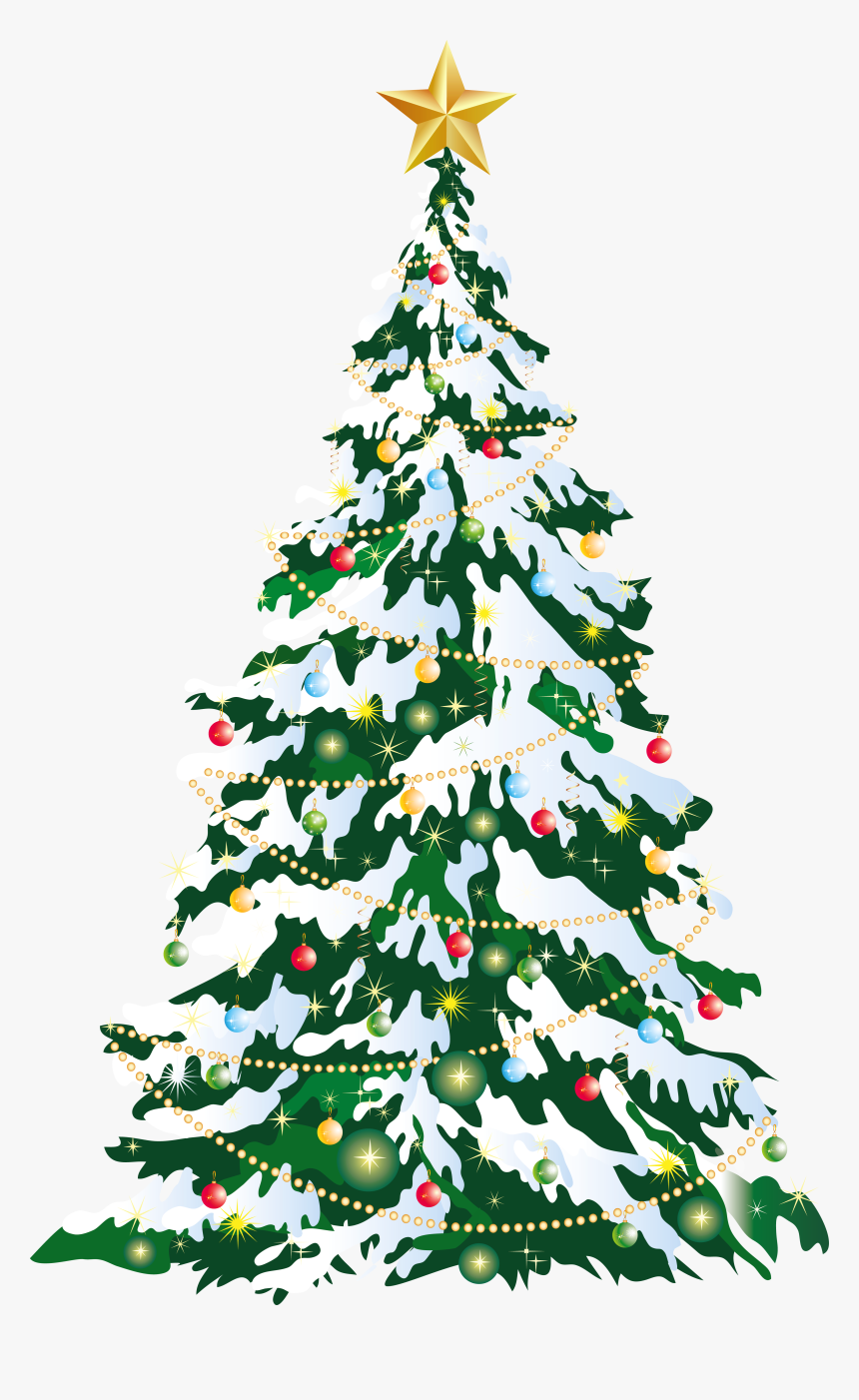 Large Christmas Tree Clipart, HD Png Download, Free Download