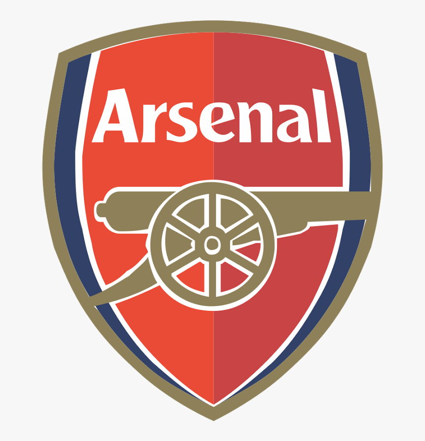 Download Arsenal F C Png Free Download - Dream League Soccer 2018 Arsenal Logo, Transparent Png, Free Download