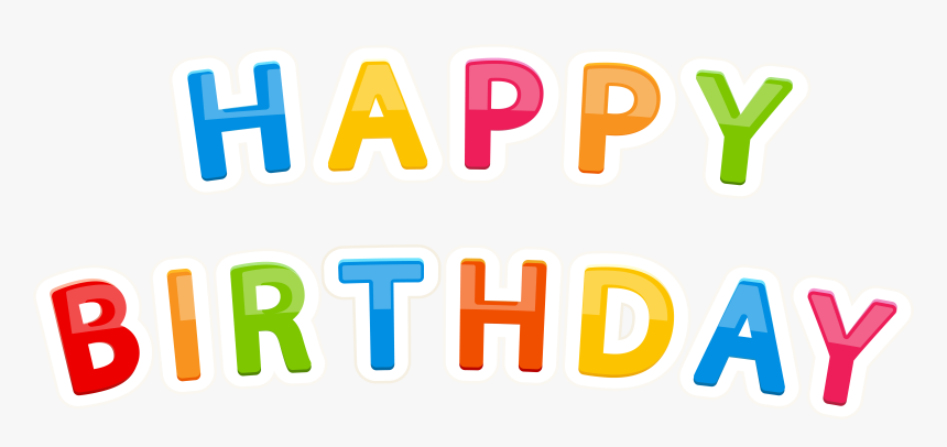 Birthday Cake Child Happy Birthday To You Party - Happy Birthday Font For Kids Png, Transparent Png, Free Download
