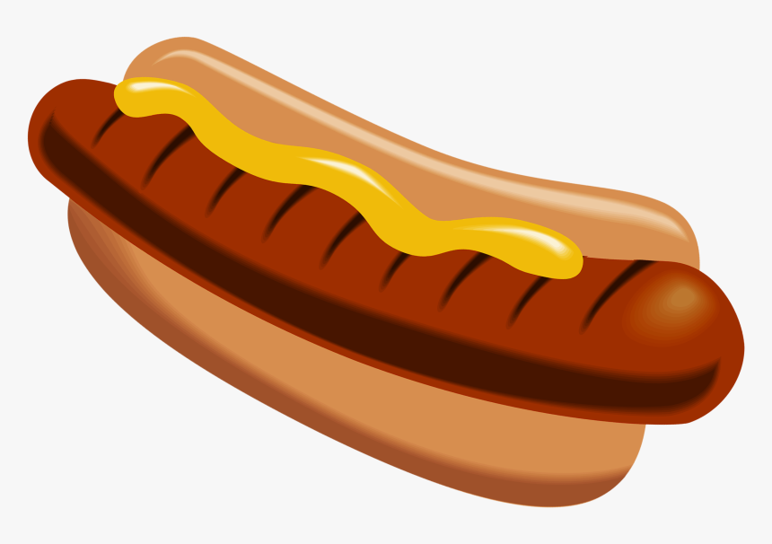 Clip Art Clip Black And White - Clipart Hot Dog Png, Transparent Png, Free Download