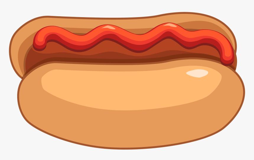 Hot Dog And Ketchup Png Clipart - Hot Dog Ketchup Clipart, Transparent Png, Free Download