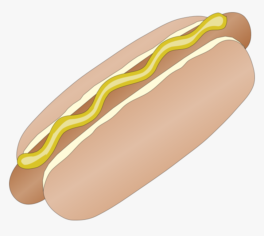 Hot Dog Images Free - Hot Dog Roll Animated, HD Png Download, Free Download