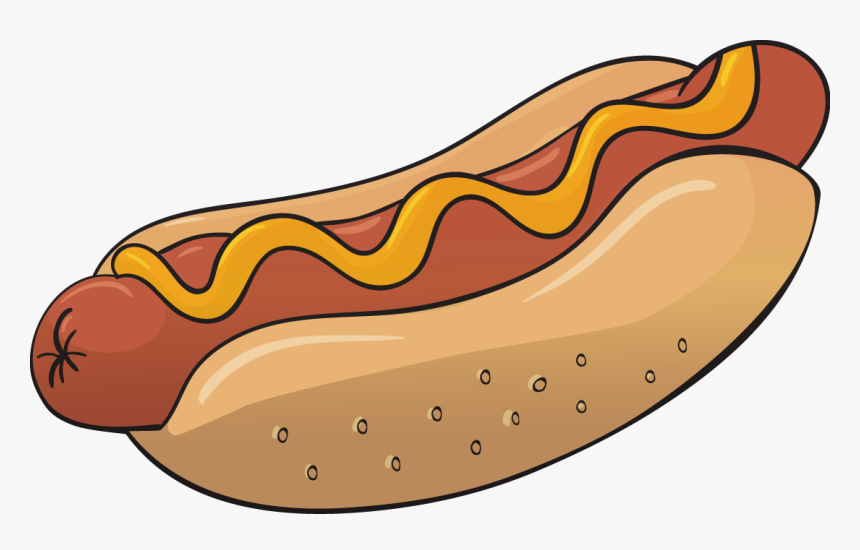 Transparent Hot Dog Clipart - Hot Dog Cartoon Png, Png Download, Free Download
