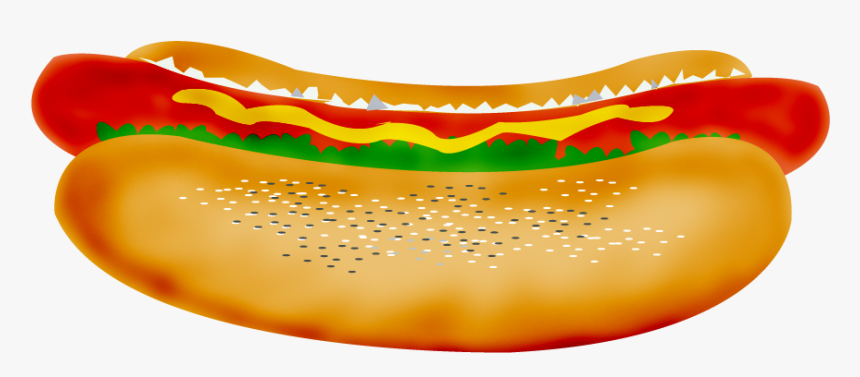Hot Dog Clipart Free Clip Art Images - Chicago Hot Dog Clip Art, HD Png Download, Free Download