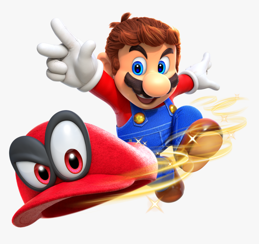 Transparent Cappy Png Super Mario Odyssey Mario And Cappy Png Download Kindpng