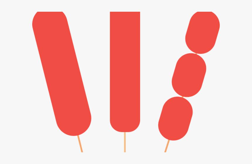 Hot Dog Clipart Hotdog Stick - Hot Dog On Stick Png, Transparent Png, Free Download