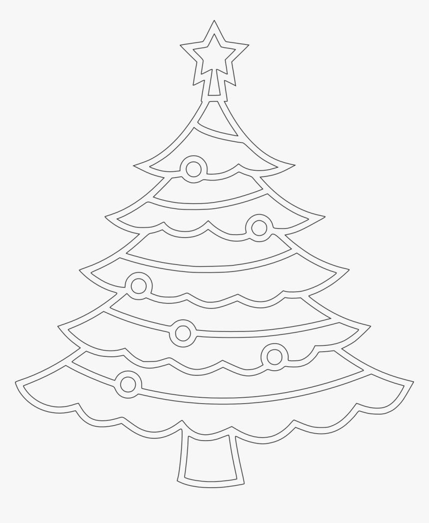 Gambar Sketsa Pohon Natal HD Download Kindpng