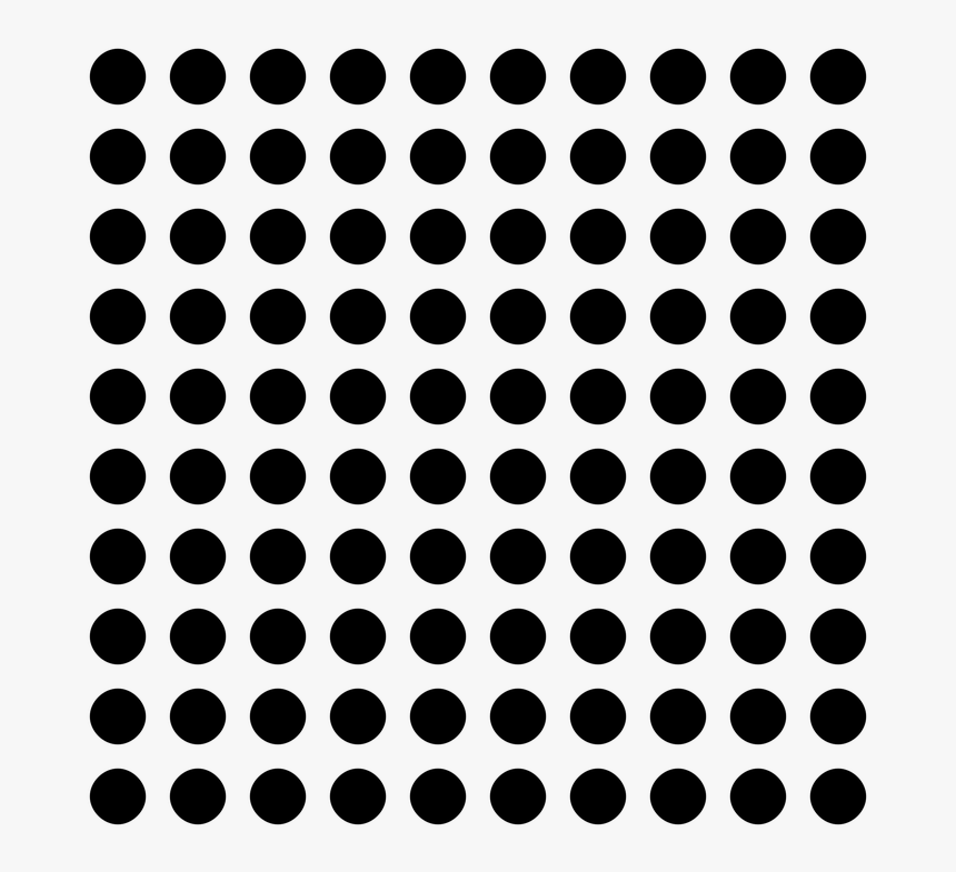 Dots Square Grid 07 Pattern Svg Downloads - Polka Dot Pattern Svg, HD Png Download, Free Download