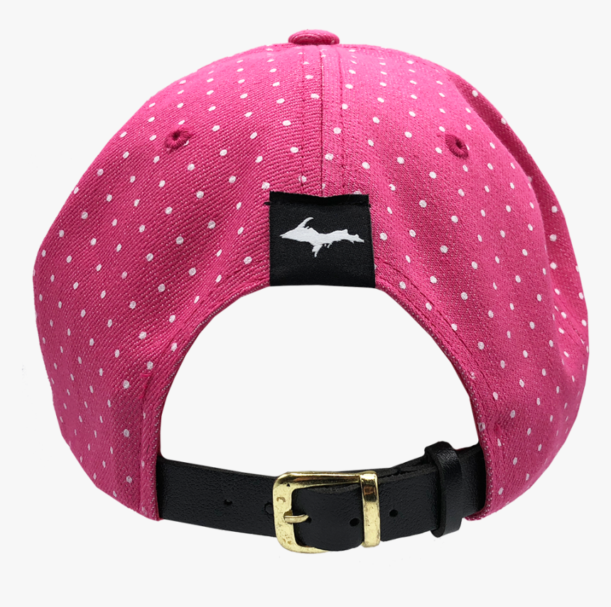 """""""906 Patch - Polka Dot Pink Hat, HD Png Download, Free Download"""