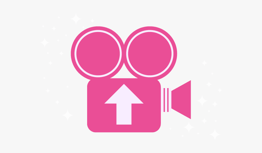 A Graphical Icon Of A Pink Video Camera Camera Icon Png Pink Transparent Png Kindpng
