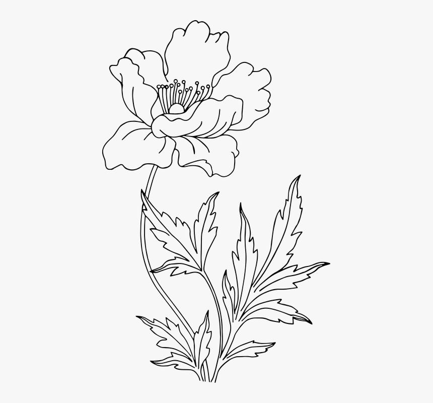 Blumen 02 Zu Malen Fur Kinder Malvorlagen