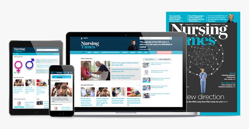 Full Range Of Nursing Times Magazine Products - Nursing Times Awards 2014, HD Png Download, Free Download
