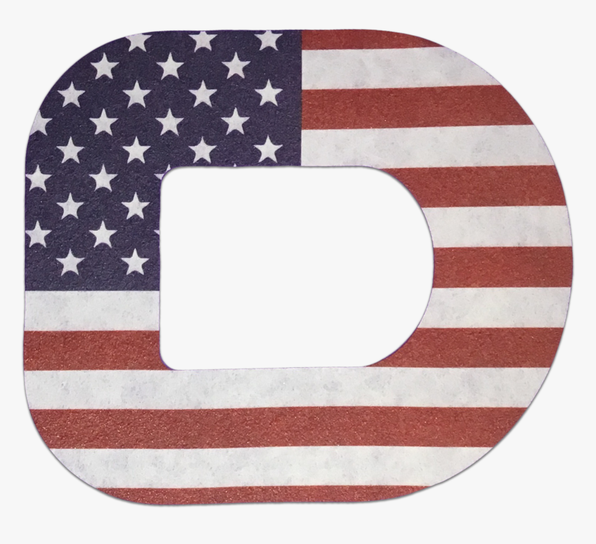 Expressionmed Dexcom G5 G6 Patch Sticker Adhesive Cute - Flag Of The United States, HD Png Download, Free Download