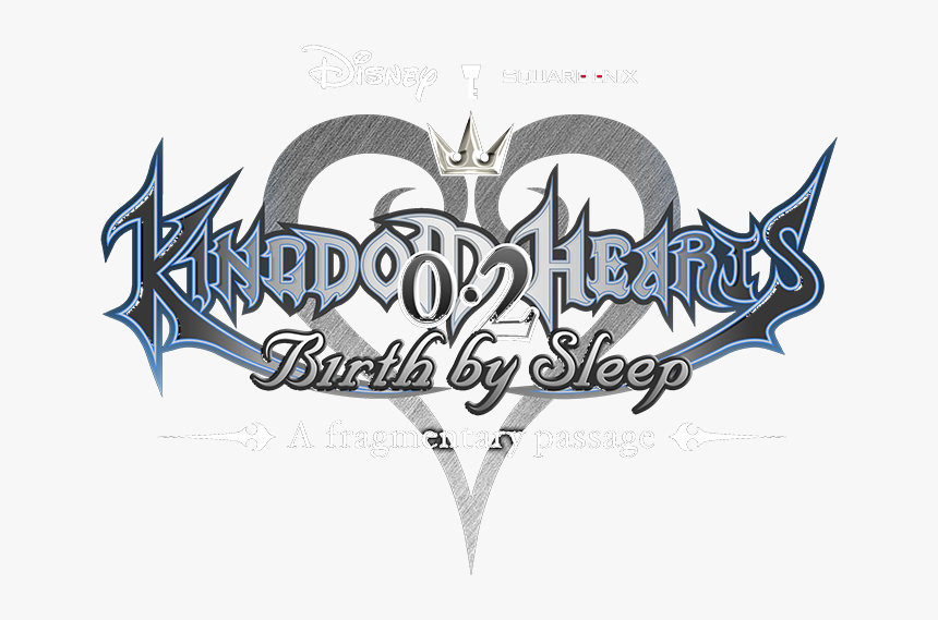 Transparent Kingdom Hearts Birth By Sleep Logo, HD Png Download, Free Download