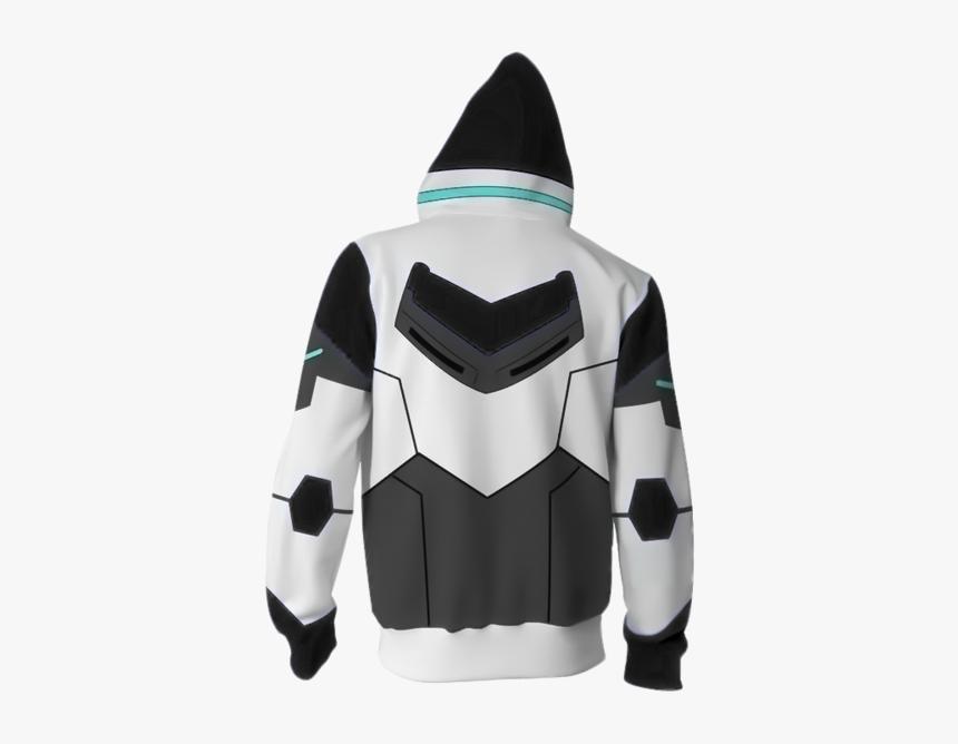 Otakuform-op Cosplay Jacket Zip Up Hoodie / Us Xs Shiro - Hoodie, HD Png Download, Free Download