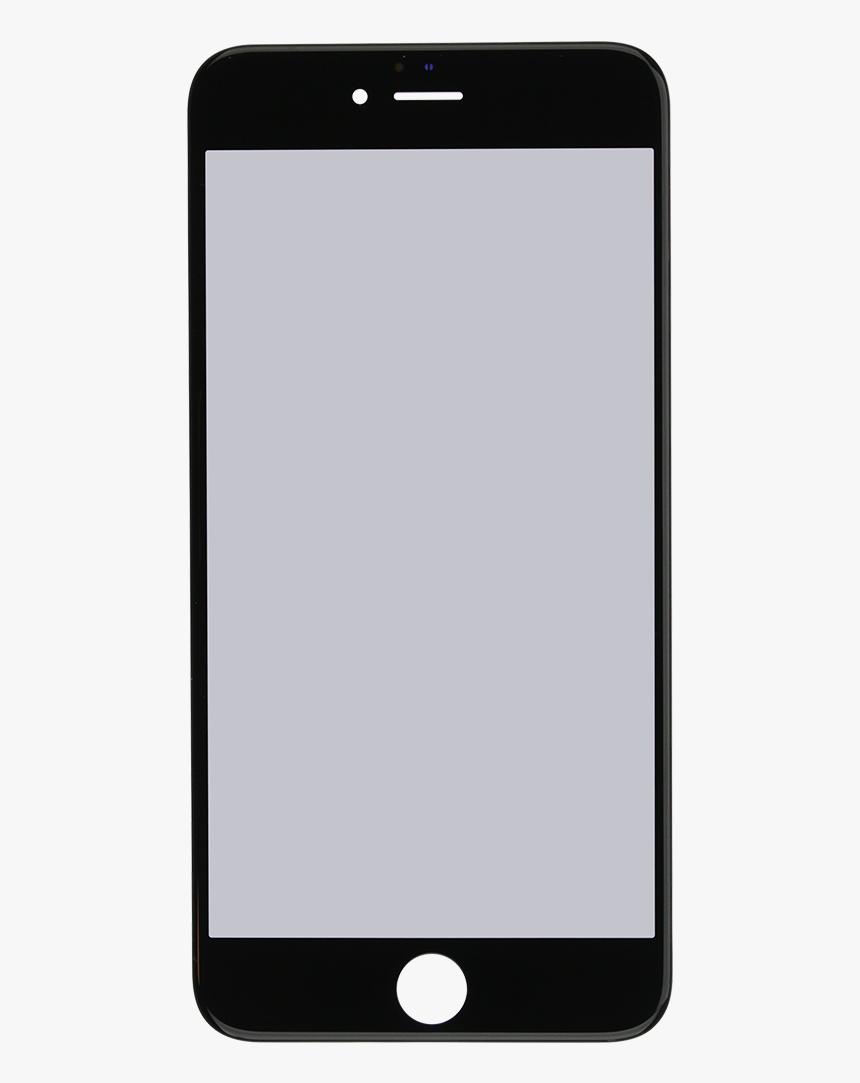 Iphone 6s Plus Black Glass Lens Screen, Frame, Oca - Iphone 6 S Plus Frame, HD Png Download, Free Download