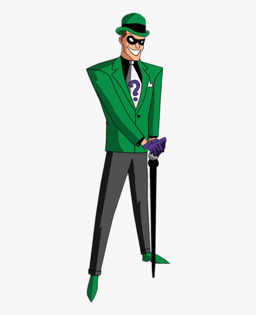 Batman Animated Riddler, HD Png Download, Free Download