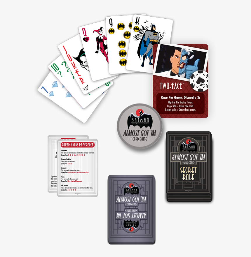 The Animated Series Almost Got 'im Card Game By Cryptozoic - Batman The Animated Series Almost Got Im Card Game, HD Png Download, Free Download