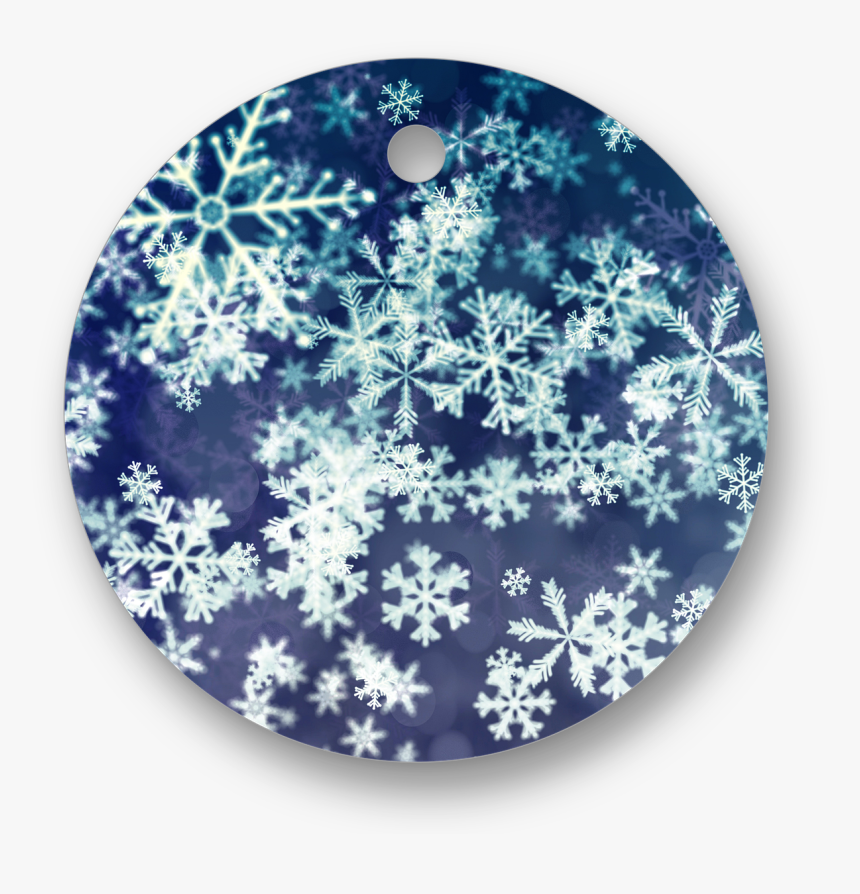 Snow Flakes Abstract Art, HD Png Download, Free Download