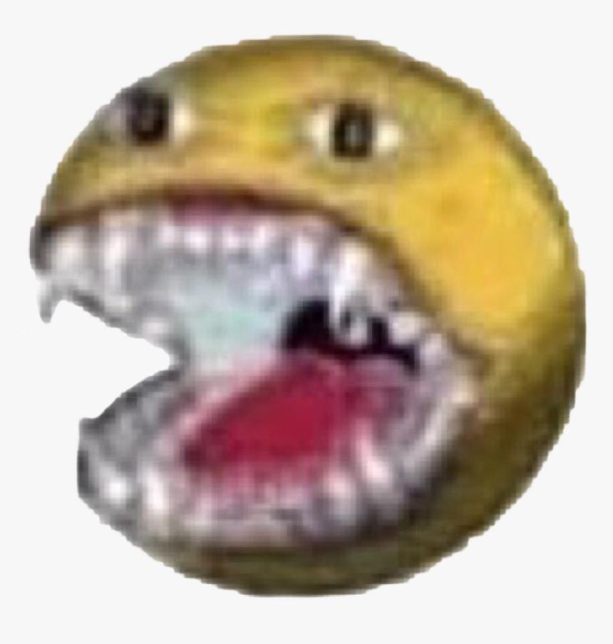 #emojis #cursedemoji #cursed #void #meme #memes #teeth - Cursed Emoji Meme Teeth, HD Png Download, Free Download