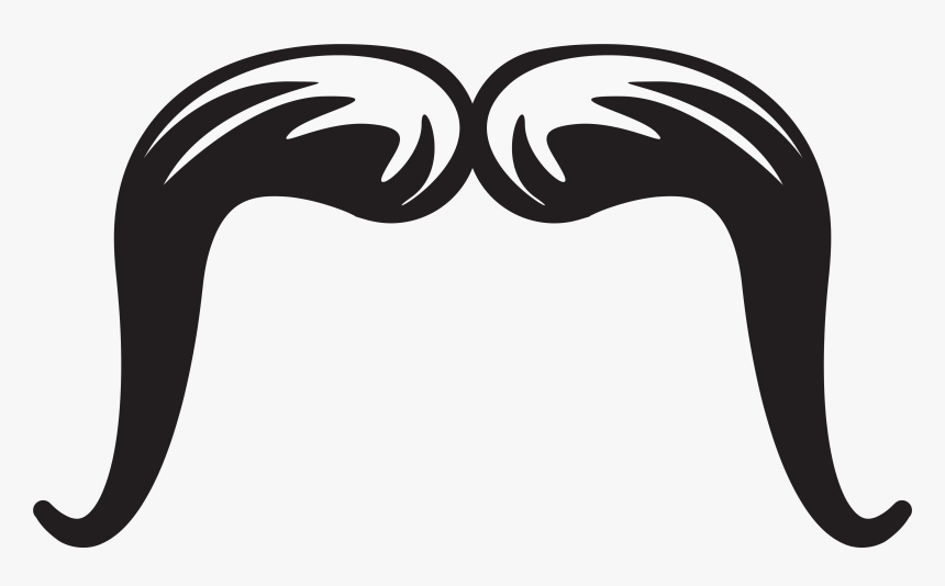 Mustache Clipart Border - Trucker Moustache Clipart, HD Png Download, Free Download